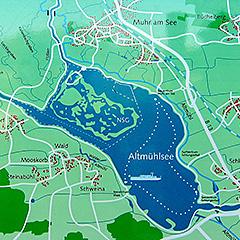 Vogelinsel am Altmühlsee (Mittelfranken)