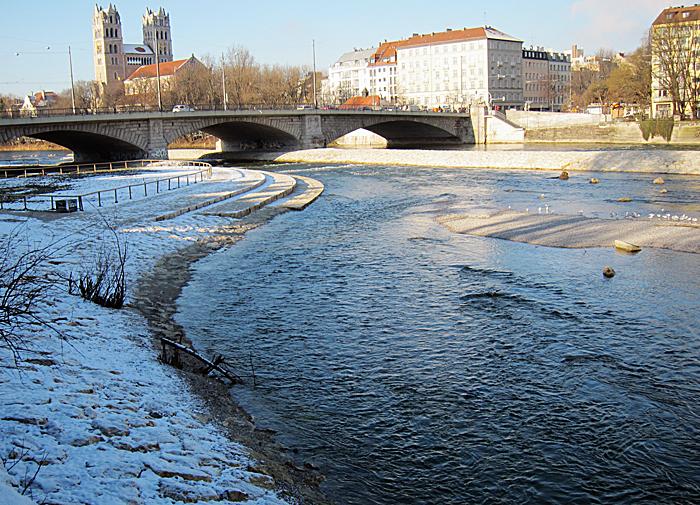 Isar Reichenbachbrücke