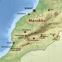 Zum Jahreswechsel 2016/2017 in Marokko