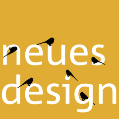 Neues, moderneres Design